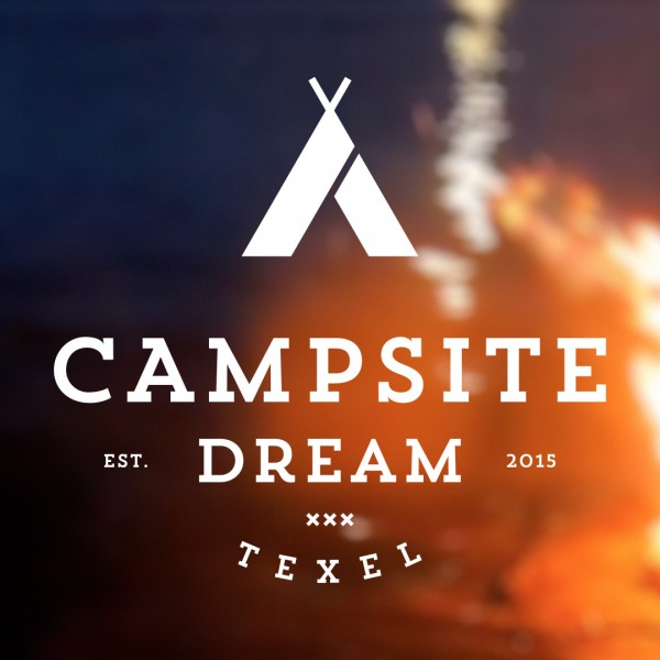 Campsite Dream logoanimatie